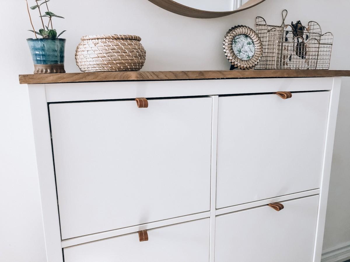 Easy Ikea Shoe Cabinet Hack Lavender Julep