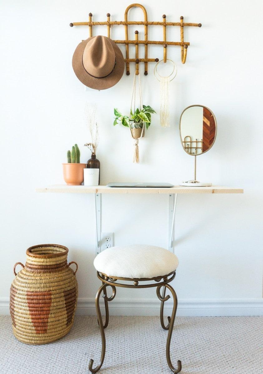 Easy Affordable Diy Vanity Desk Lavender Julep